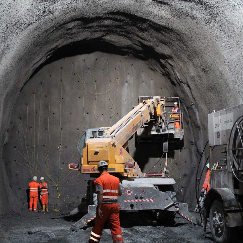 Tunnel work