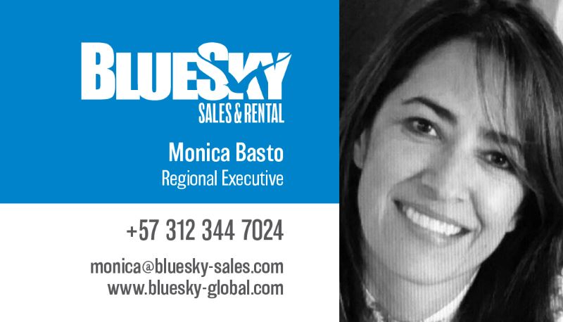 BlueSky Sales cards-Monica
