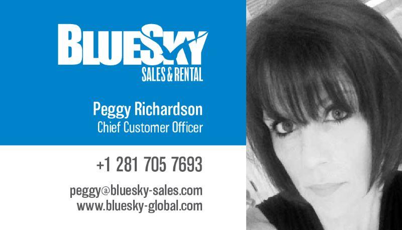BlueSky Sales cards-Peggy