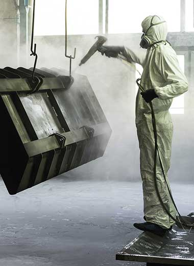 industrial dust collection systems for sand blasting