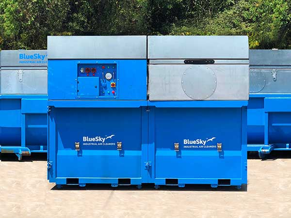 dust collection system small