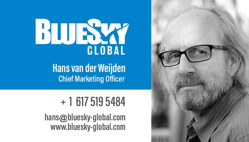 business card Hans aller best